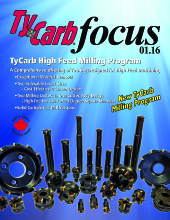 TyCarb High Feed Milling Cutters
