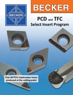 BECKER PCD Chip Control Geometries