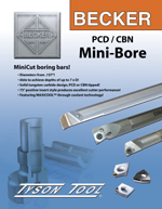 PCD / CBN Mini Bore, 8 page Catalogue