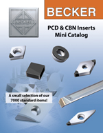 PCD & CBN Mini Catalogue, 6 pages